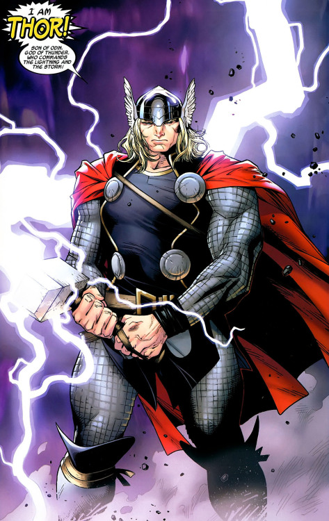 super-nerd:  Thor by Olivier Coipel
