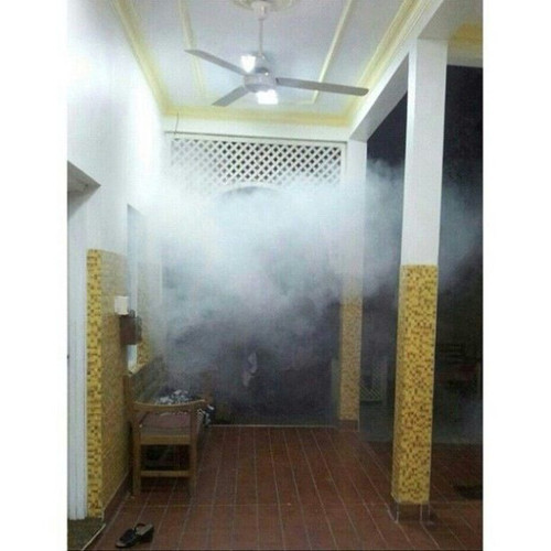 A house in A'ali village full with teargas / photo via alwefaq / http://t.co/iGlOhARS