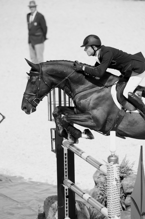 theinternationalscene:  Ben Maher and Tripple X at the 2012 London Olympic Games