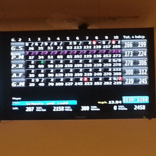 Wooot 4th 300 game! #300 #bowling #storm #manic