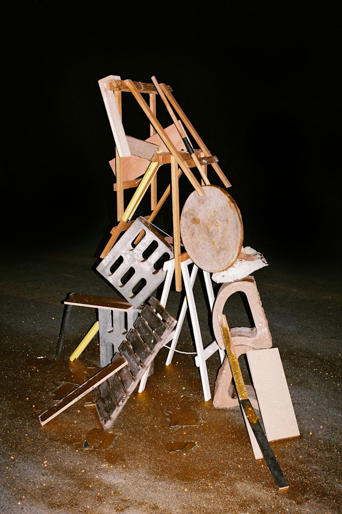 nicokrijno:  Various Items found in a parking-lot by the sea. 2013