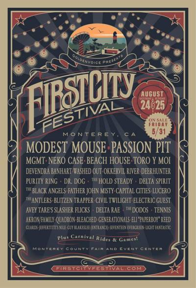 Pretty legit excited for this new @firstcityfest at the #montereyfairgrounds !