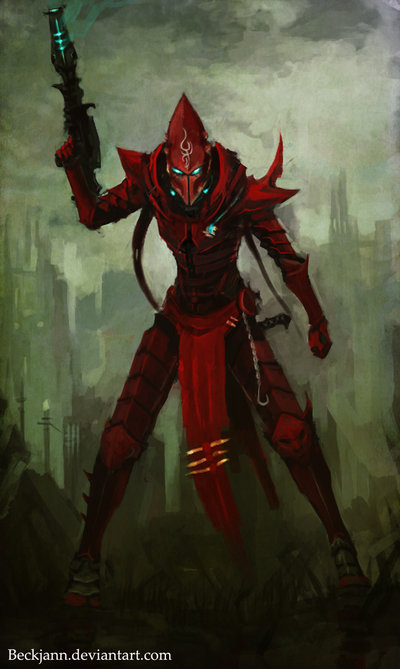Dark Eldar: I'll burn it all by ~Beckjann