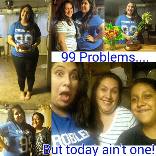 If you're having some problems…I feel bad for you son! I got 99 problems, but today ain't one! 😉