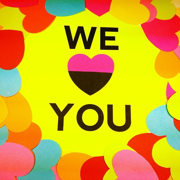WE ❤ YOU! See a cool animation we made just for you on Vine! We can be found under 'Lime Crime'.