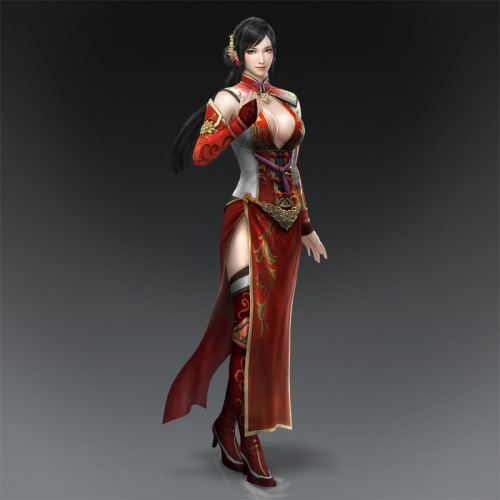 Dynasty Warriors 8 - Lianshi, CG Artwork