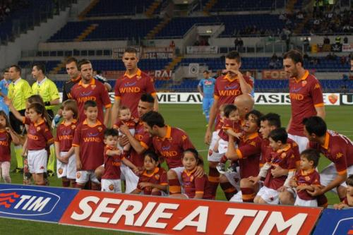 asromaworld:  Roma players and his babies