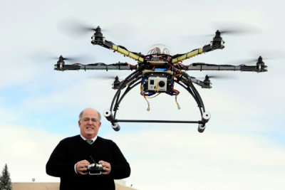 laughingsquid:  Domestic Drones on Patrol