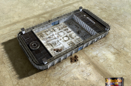 "(via Felipe Luchi for Go Outside Magazine - Jailhouses) I first saw this image in a passionate op-ed for Gizmodo called ""The Perfect Definition of This Goddamn Digital Life"" (please excuse God's name in vain). That piece in general is worth a read. Even if you don't agree, you're going to walk away knowing how the author, Jesus Diaz, feels.""Instead of using our phones and tables as tools of empowerment, we are increasingly turning them into prisons that consume our time and attention. Through them we have access to vasts islands of information, but that information is trapped in oceans of mud. We choose to dive in, and then we find it hard to get out. These devices allow us to create a permanent nexus between ourselves and our family, friends, and lovers. That's good—in a way. The dark side is that we place too much importance on the digital bond, increasingly choosing to ignore the real world around us."""