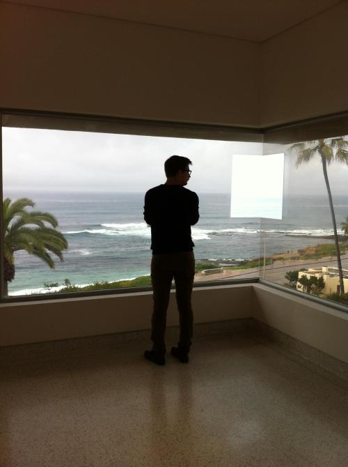 I see my fwend! :) iamcurating:  Robin Peckham Robert Irwin at the SD Museum of Contemporary Art La Jolla.