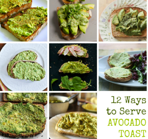 findvegan:  12+ ways to serve avocado toast!