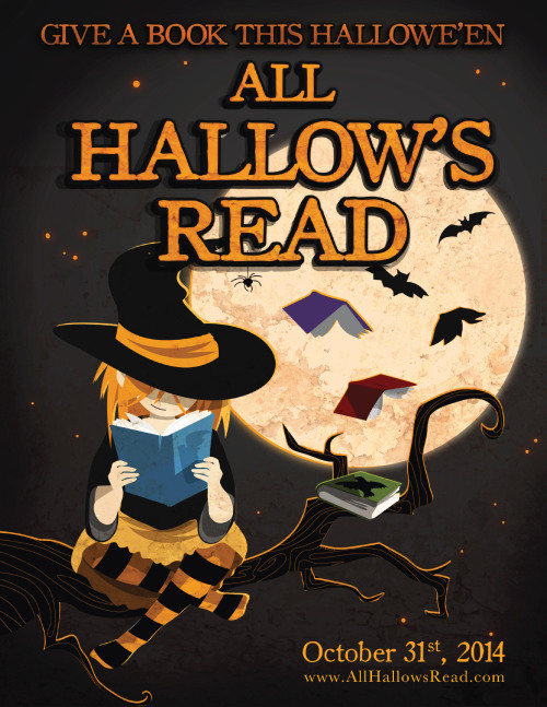 paperbeast:  Hey, I updated the original All Hallow's Read poster for 2014! Download from this post or click or here! Happy haunts, everyone.