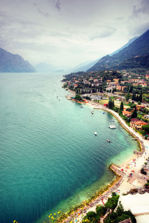 4nimalparty:  Malcesine, Lake Garda (by FedeSK8)