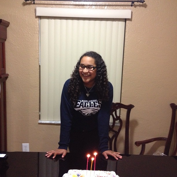 Happy birthday to my beautiful daughter. @samy_xoxo_21