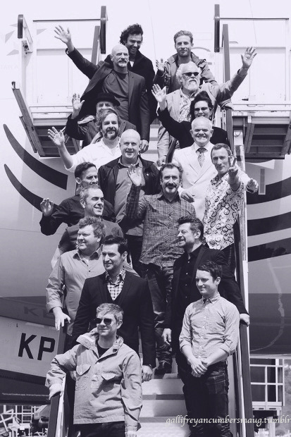 The Hobbit Cast in NZ