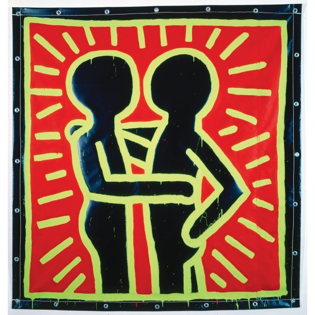 love-magazine:  More Keith Haring to celebrate his upcoming Parisian retrospective