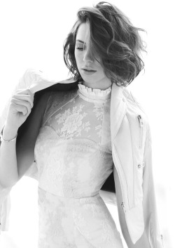 forthosewhocravefashion:  Rebecca Hall by Max Abadian for ELLE Canada, June 2013