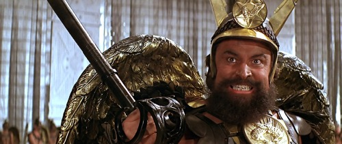 "androidghost:  Brian Blessed as"" Prince Vulcan"" Flash Gordon (1980)  Because why not?"