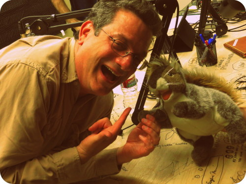 jakefogelnest:  Hey!!!! DID YOU GET THE MEMO?!  ANDY KINDLER and GARY THE SQUIRREL are on THE FOGELNEST FILES today!  Subscribe on iTunes.
