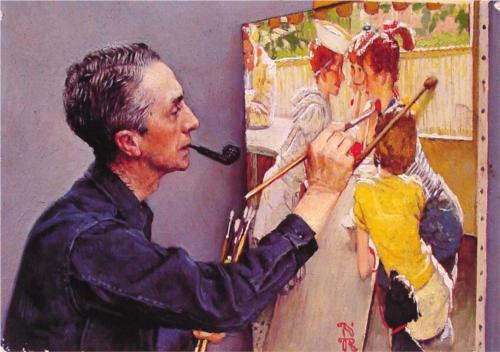 HAPPY BIRTHDAY, NORMAN ROCKWELL! greatest influence :)