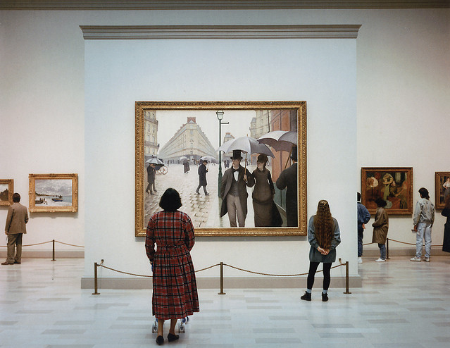 Art Institute Of Chicago II, 1990 | by © Thomas Struth | via lifeonsundays
