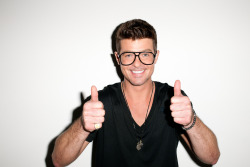 terrysdiary:  Robin Thicke as Me