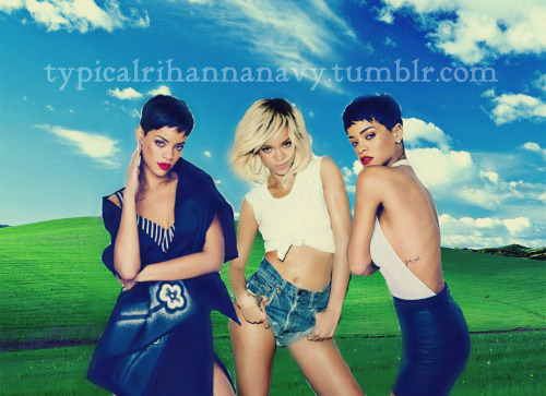 Windows XP Rihanna Version