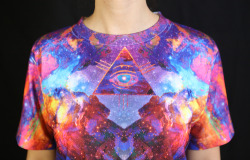 "riffsand-spliffs:  Check out my T-Shirts ""Mind Star"" and ""Enter Cosmos"" over at Rave Nectar!http://ravenectar.com/"