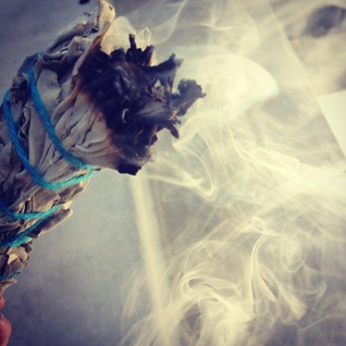 skullsandscones:  #sage #meditation #cleansing #soothing #love #positivity #hope