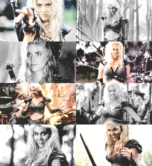 hassharpesttooth:  My Infinite List of Favorite Female Characters :  Callisto, Xena Warrior Princess  + Hercules: The Legendary Journeys