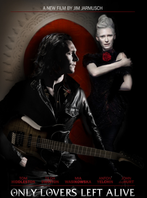 kateoplis:  Jarmusch's vampire film (!), Only Lovers Left Alive, added to Cannes' competition lineup.   Jarmusch is doing it again.