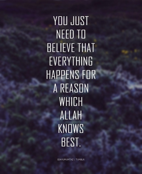 ALLAH knows the best