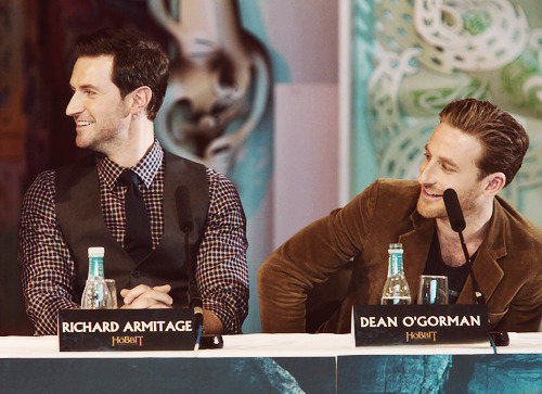 Richard & Dean @ Wellington Press Conference