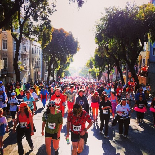 Obligatory bay to breakers #b2b (at Bay To Breakers)