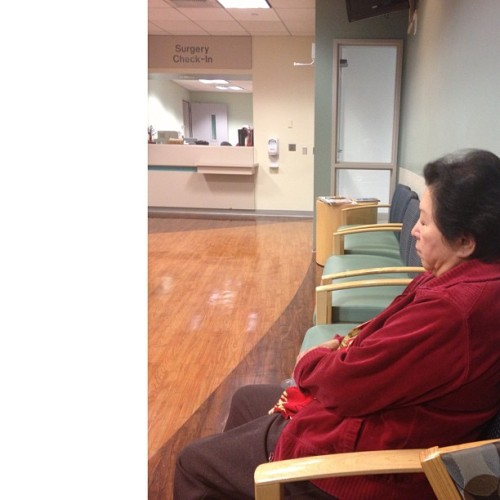 Let's play the waiting game. I think I won. (at Kaiser Permanente Baldwin Park Medical Center)