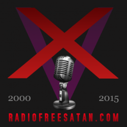 "churchofsatannews:  Happy 15th anniversary to Radio Free Satan! In celebration of fifteen years of infernal audio, hear ALL of our current shows represented in this extra-long special, with unique contributions from every DJ. Also Magister Bill M. welcomes back Professor Sinister, host of Radio Free Satan's ""Vault of the Lost"" program (2000-2007), for an exclusive talk about the station's early history, its rise through the highs and lows, rare station recordings, and more. Hail Radio Free Satan!"