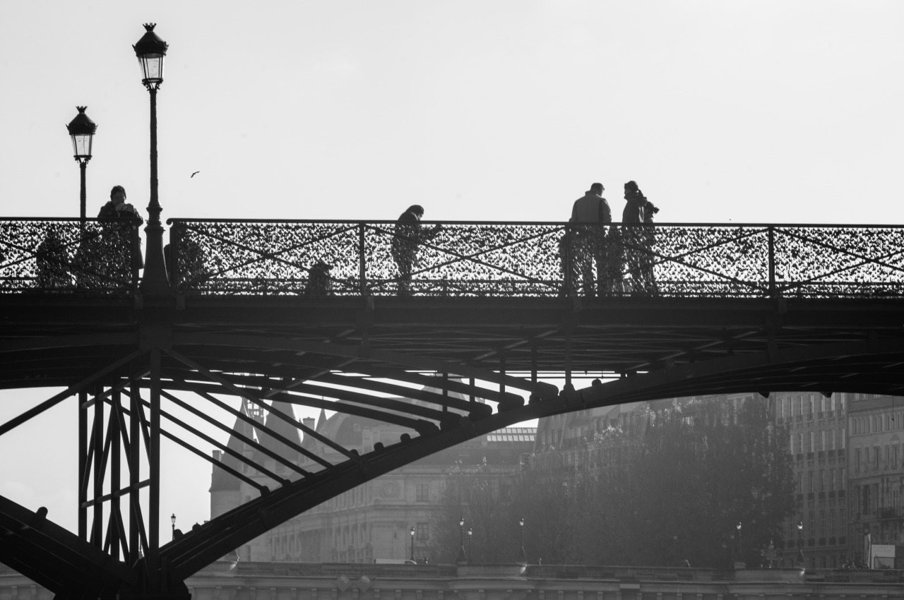 Pont des Arts, Paris Novembre 2012. Published May 2013. Thomas Simon.