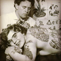 Words cannot express how much I love this picture #tattoos #vintage #women