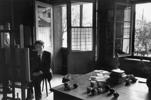 reaktorplayer:  ALBERTO GIACOMETTI BY HENRI CARTIER-BRESSON