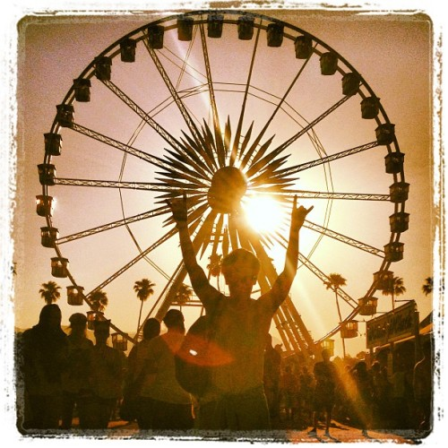 Day 3 - Birthday! #coachella #coachella2013  (at Coachella Valley Music and Arts Festival)