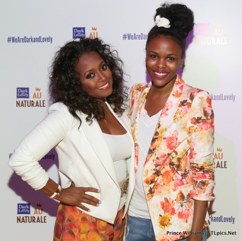 "Spotted: Keisha Knight Pulliam and Her ""Curl Friends"" at Dark and Lovely Launch Party http://bit.ly/12pgWRj"