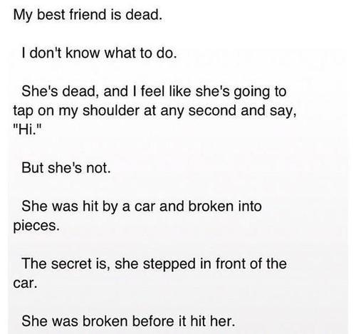 unicornmunch:  slowlysurviving:  Omg :'( this is so sad  heart=hurt….