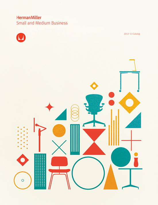 quiet-design:  HermanMiller poster by Gavin Potenza