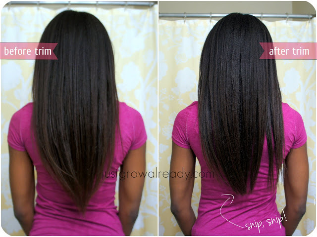 Relaxer touch up results! Check out the full post here!