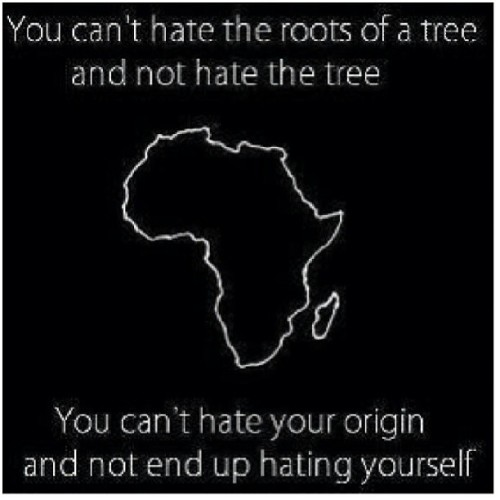 true2myroots:  You can steal the Fruit but never the Root…… Alkebulan has my ♥ Foriver more