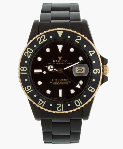 gentleman-forever:  Matte Black ROLEX. Only 50 watches released . Available HERE.