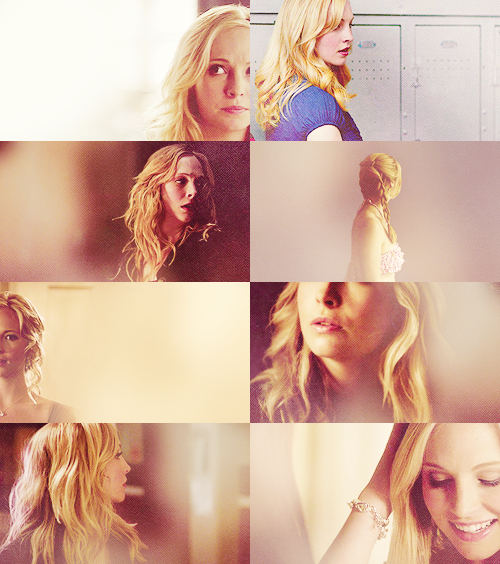 I'm not girly little caroline anymore, I can handle myself.