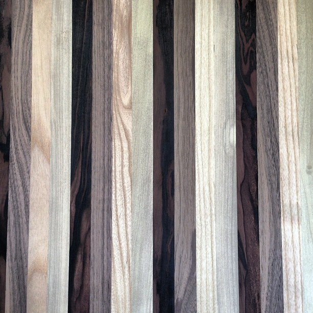 #Laminated #strips of #exotic #wood #woodworking #nofilter
