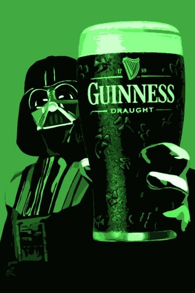 Join the dark side… We have Guinness!