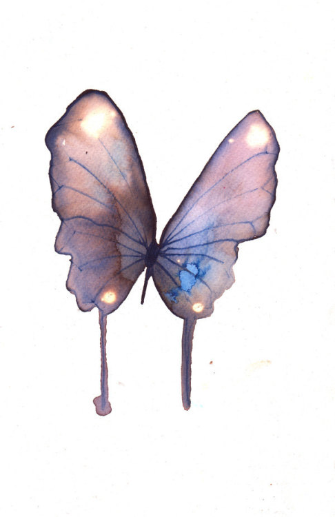Original hand painted butterflies by metamorphosing on etsy.